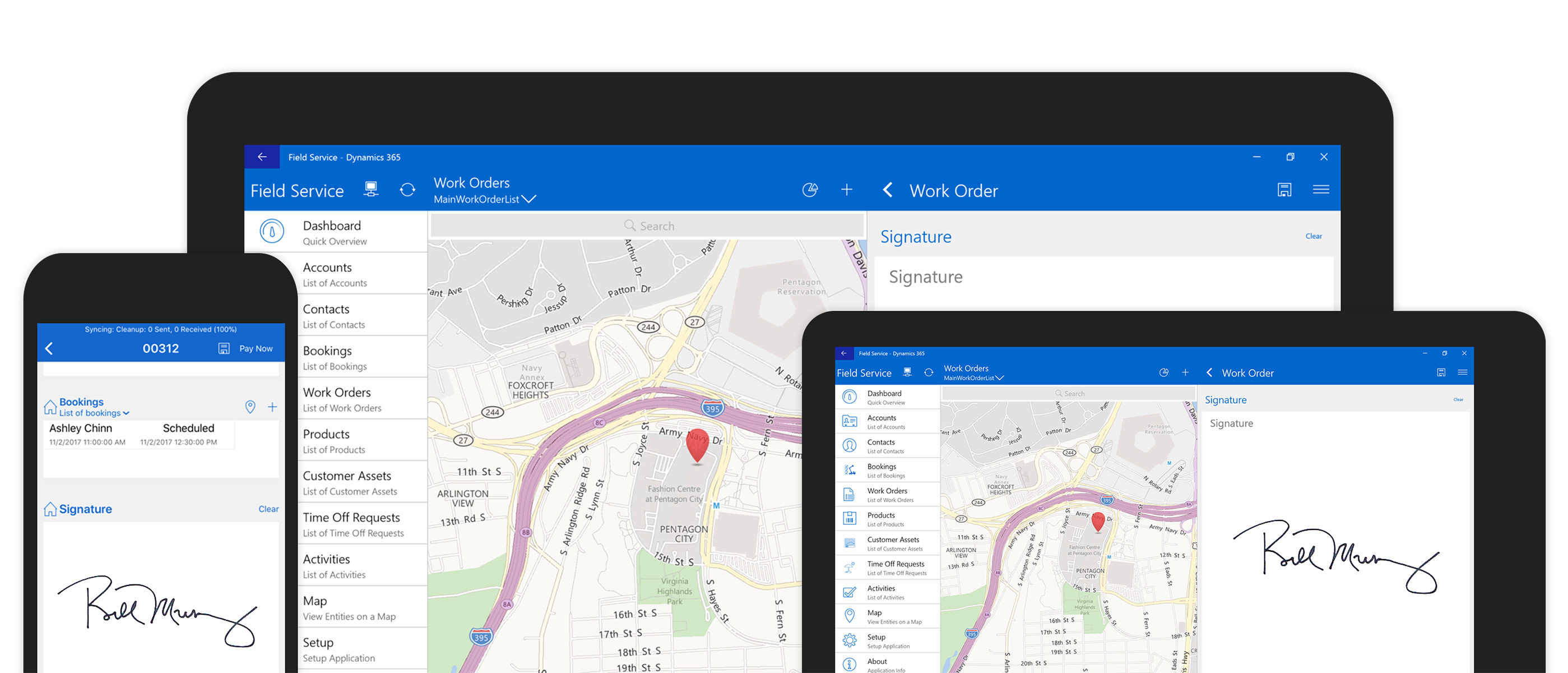 Microsoft Dynamics 365 for Field Services - Free Trial