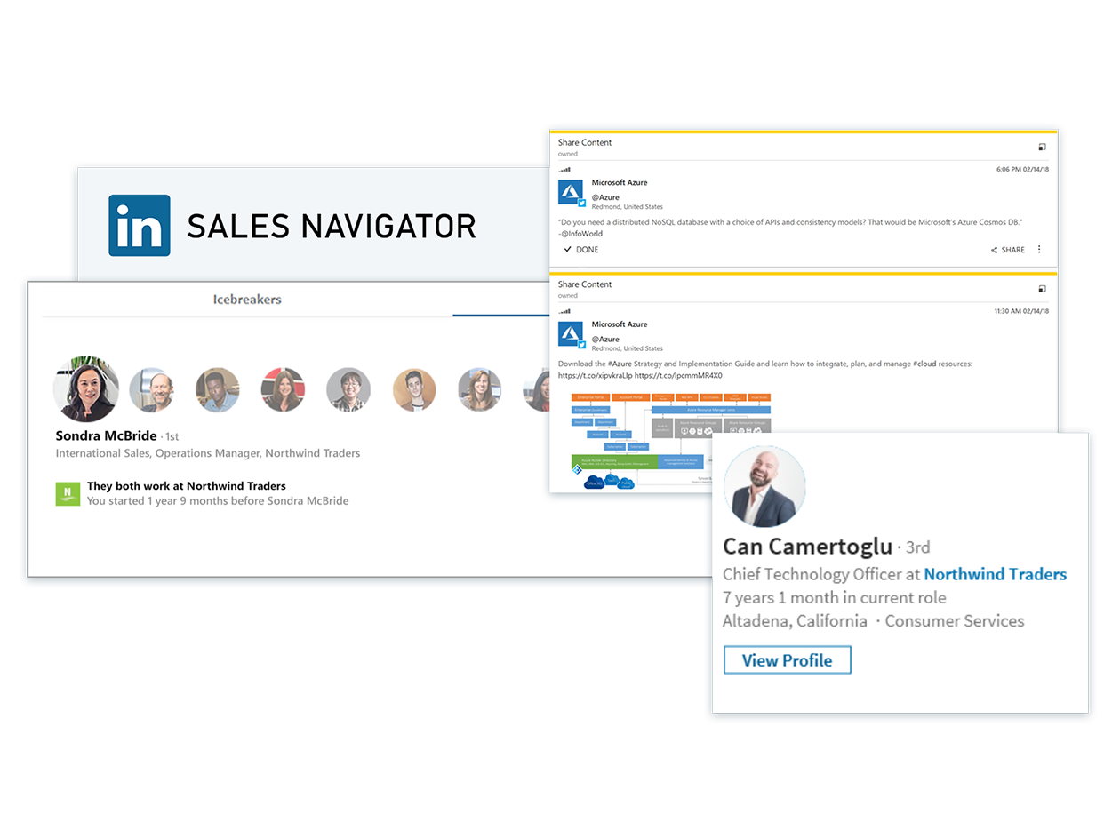 Microsoft Dynamics 365 for Sales - LinkedIN
