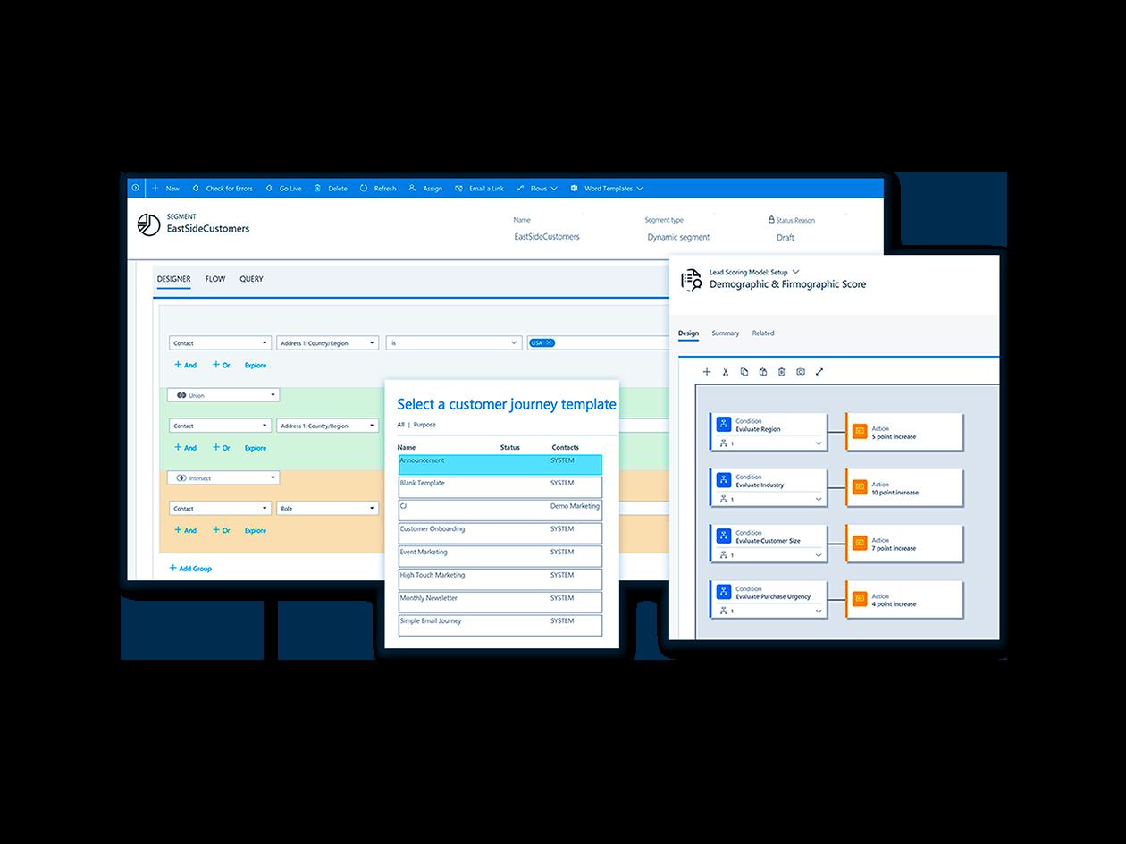 Microsoft Dynamics 365 for Marketing platform