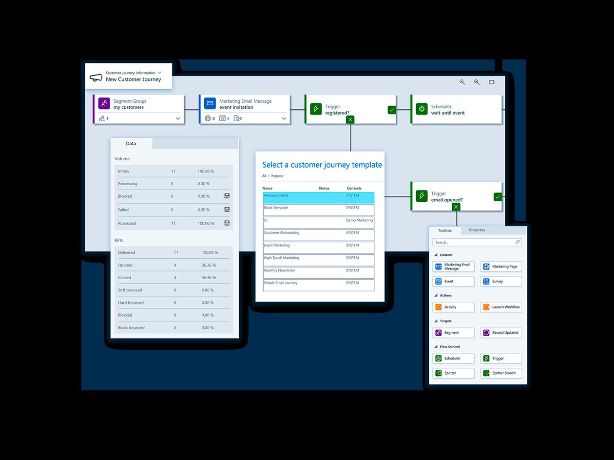 Microsoft Dynamics 365 for Marketing Leads Screenshot